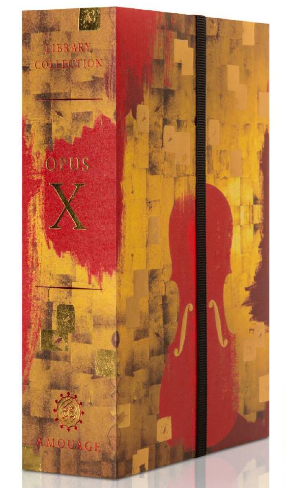 The Library Collection Opus X Amouage perfume - a new fragrance ...