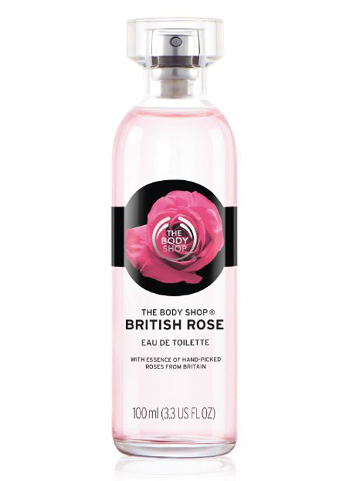 British Rose The Body Shop perfume