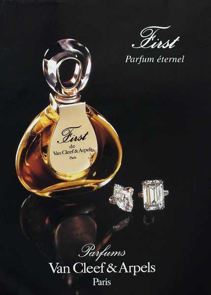 Rose Vanilla Perfume: First Parfum Van Cleef & Arpels Perfume