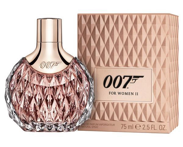 james bond 007 for women ii eon productions perfume a new fragrance for women 2016. Black Bedroom Furniture Sets. Home Design Ideas