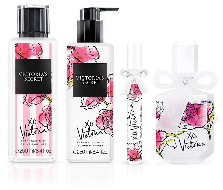 xo victoria victoria 39 s secret perfume a new fragrance for women 2016. Black Bedroom Furniture Sets. Home Design Ideas