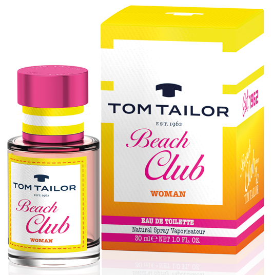 tom tailor beach club woman tom tailor perfume a new fragrance for women 2016. Black Bedroom Furniture Sets. Home Design Ideas