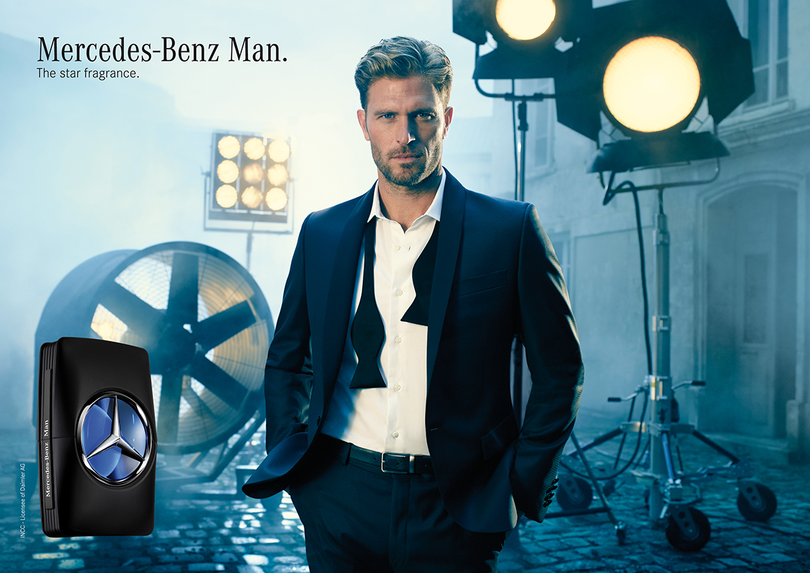 mercedes benz man mercedes benz cologne a new fragrance