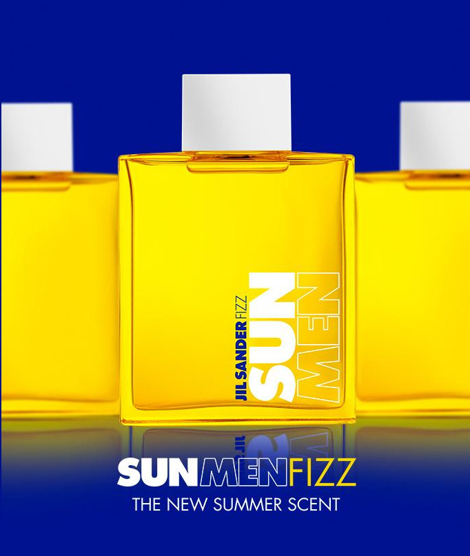 sun men fizz jil sander cologne ein neues parfum f r. Black Bedroom Furniture Sets. Home Design Ideas