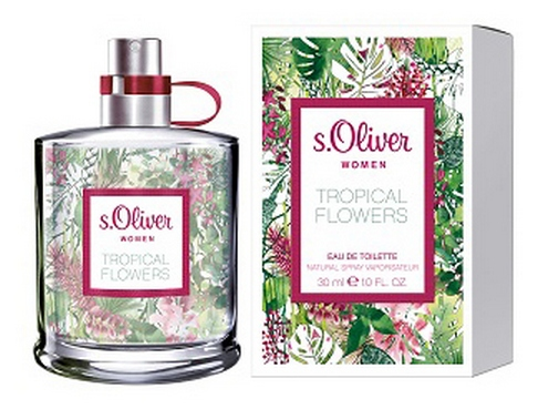 tropical flowers s oliver parfum ein neues parfum f r. Black Bedroom Furniture Sets. Home Design Ideas