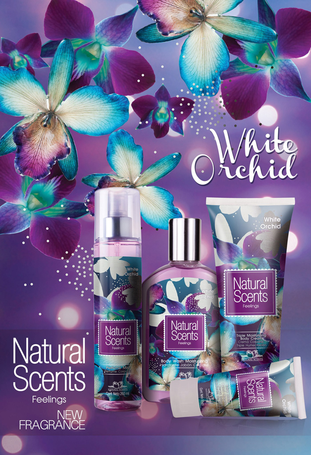 Sephora Advertisement White Orchid Natural S...