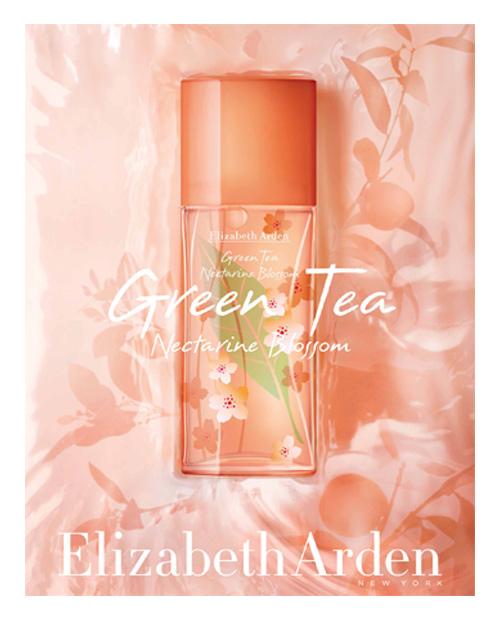 Green Tea Nectarine Blossom Elizabeth Arden perfume a new