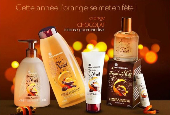 collection noel 2018 yves rocher Fruits de Noel Orange & Chocolat Yves Rocher perfume   a  collection noel 2018 yves rocher