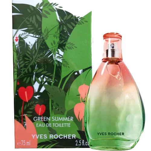 green summer yves rocher perfume a fragrance for women 2009. Black Bedroom Furniture Sets. Home Design Ideas