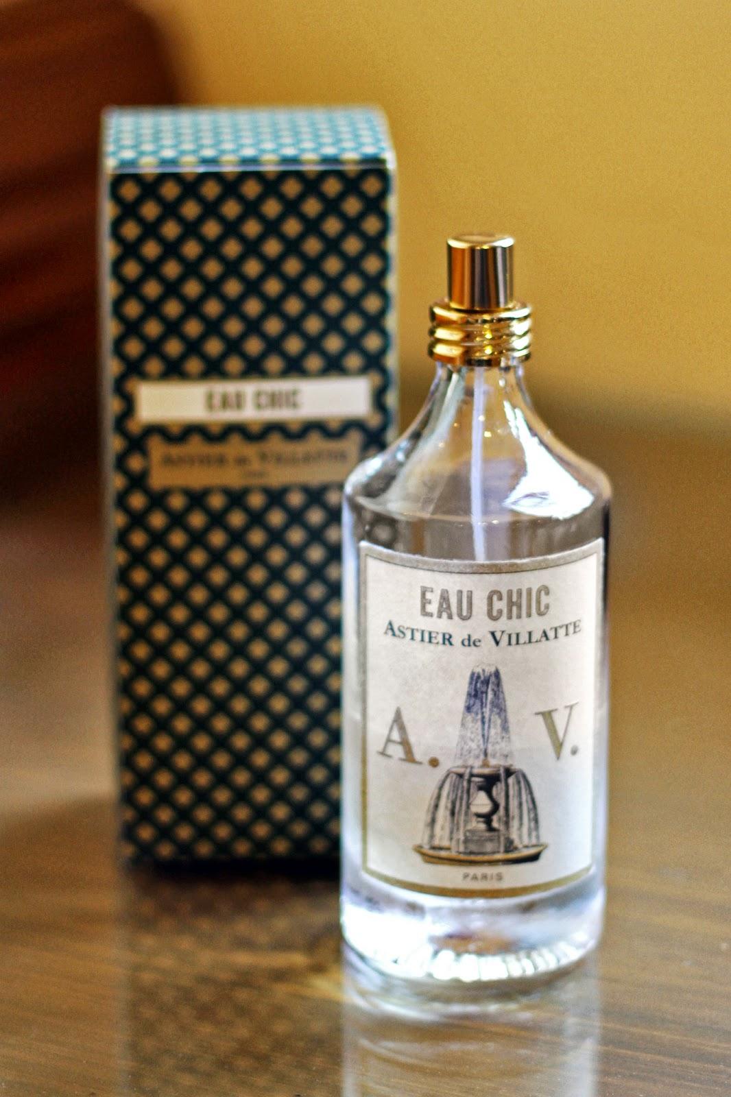 eau chic astier de villatte perfume a fragrance for women and men 2008. Black Bedroom Furniture Sets. Home Design Ideas