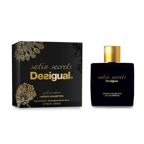 satin secrets desigual parfum un nouveau parfum pour homme et femme 2015. Black Bedroom Furniture Sets. Home Design Ideas