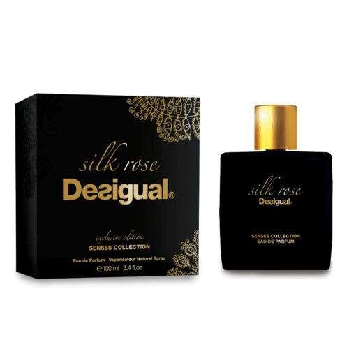 silk rose desigual parfum un nouveau parfum pour homme et femme 2015. Black Bedroom Furniture Sets. Home Design Ideas