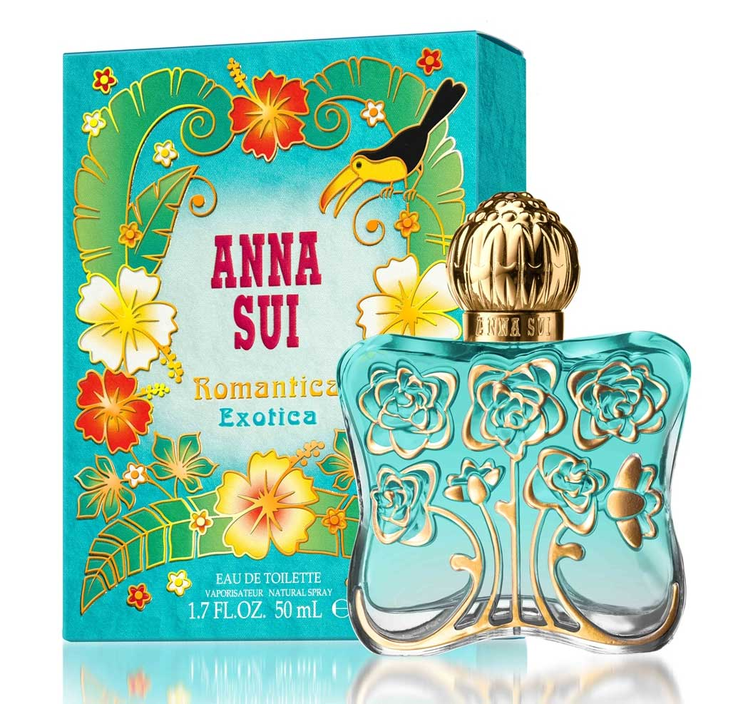 romantica exotica anna sui perfume a new fragrance for. Black Bedroom Furniture Sets. Home Design Ideas
