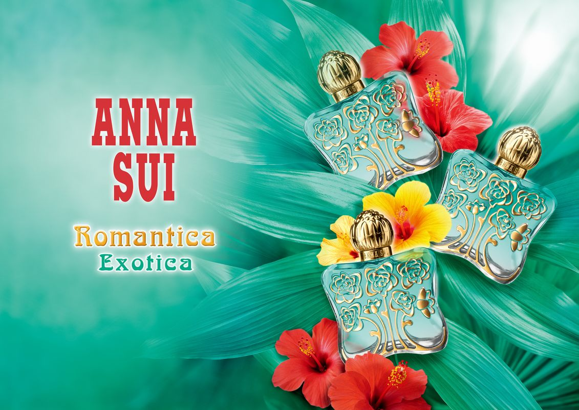 Tropical Island Beach Ambience Sound: Romantica Exotica Anna Sui Perfume