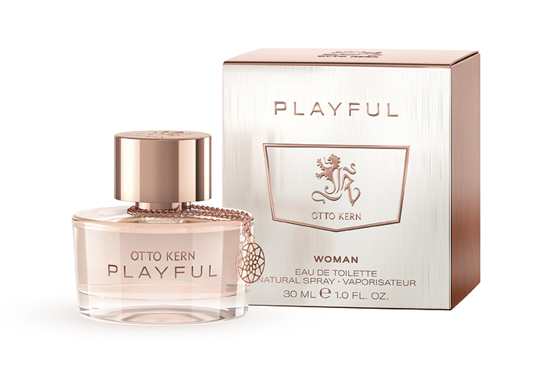playful woman otto kern perfume a new fragrance for women 2016. Black Bedroom Furniture Sets. Home Design Ideas