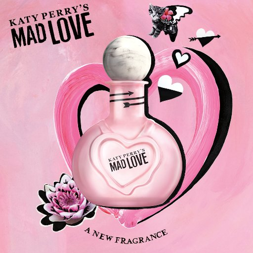 katy perry s mad love katy perry perfume a new fragrance. Black Bedroom Furniture Sets. Home Design Ideas