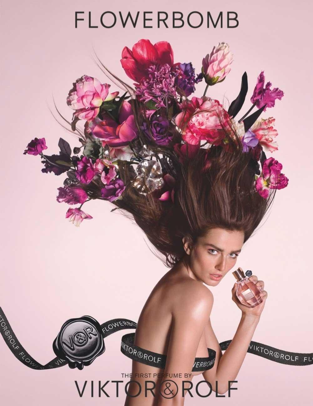 Viktor Rolf Fall 2016 Couture Fashion Show: Flowerbomb Viktor&Rolf Perfume