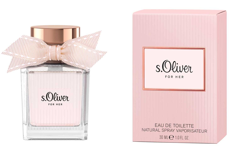s oliver for her s oliver perfume a new fragrance for. Black Bedroom Furniture Sets. Home Design Ideas