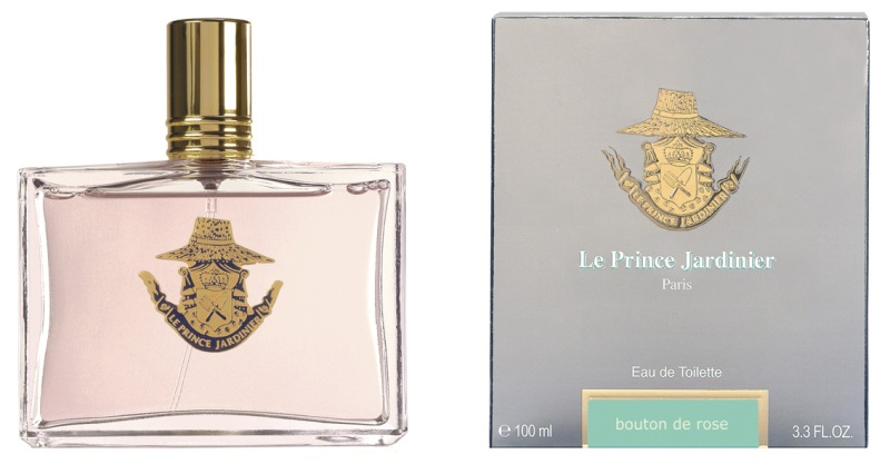 Bouton de rose le prince jardinier perfume a fragrance for Pliage serviette bouton de rose