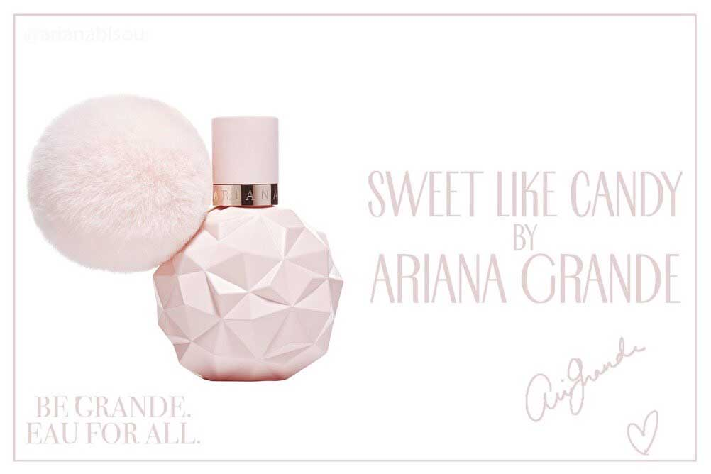 sweet like candy ariana grande perfume a new fragrance. Black Bedroom Furniture Sets. Home Design Ideas