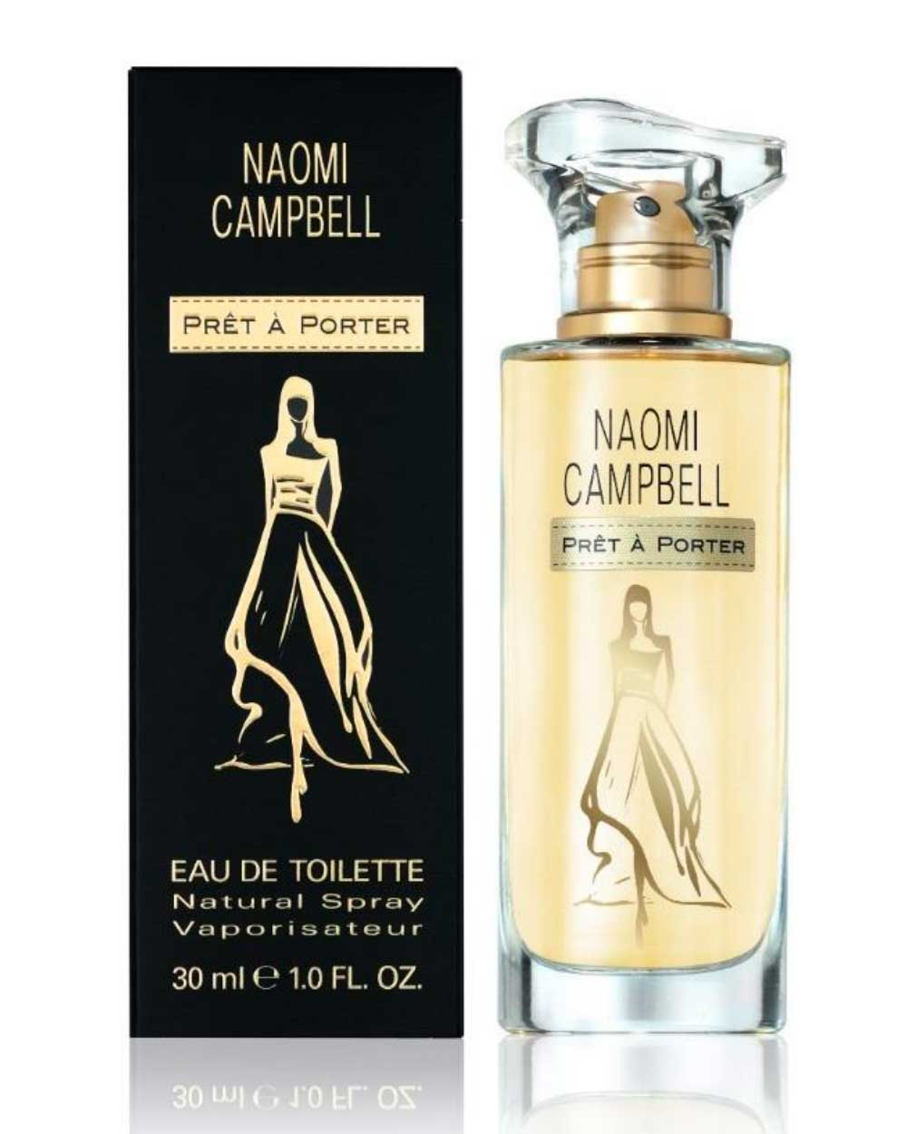 Pret a porter naomi campbell perfume a new fragrance for for Pret a porter