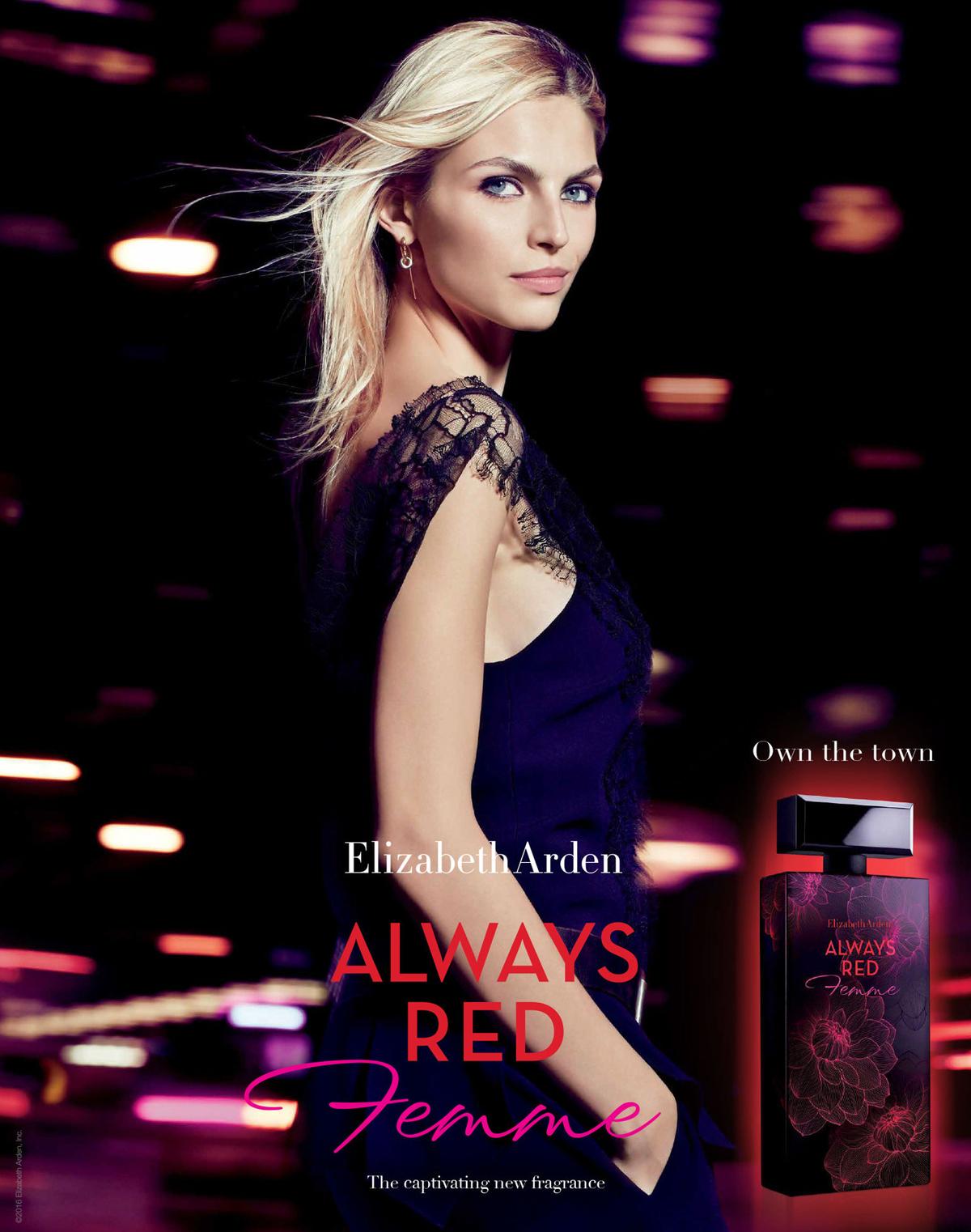 Always Red Femme Elizabeth Arden Perfume A New Fragrance For Women