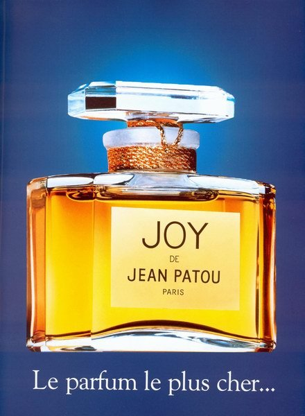 Risultati immagini per joy ad patou advertisement