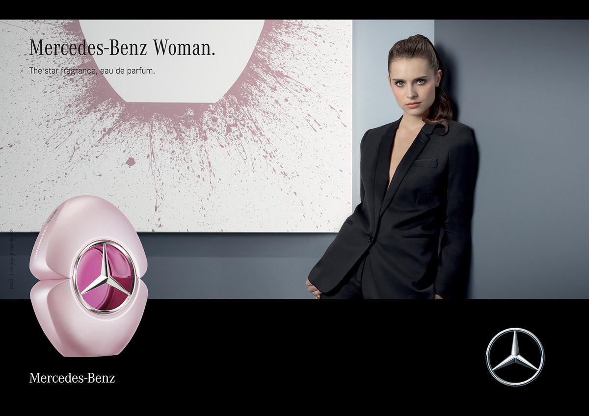 mercedes benz woman mercedes benz perfume a new. Black Bedroom Furniture Sets. Home Design Ideas