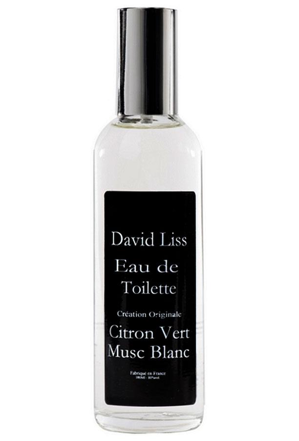 citron vert musc blanc david liss parfums parfum een geur voor dames. Black Bedroom Furniture Sets. Home Design Ideas