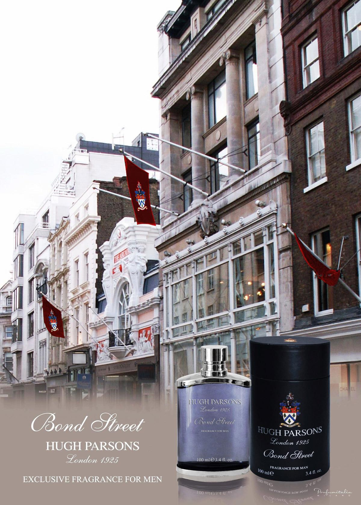 Bond Street Hugh Parsons cologne a new fragrance for men