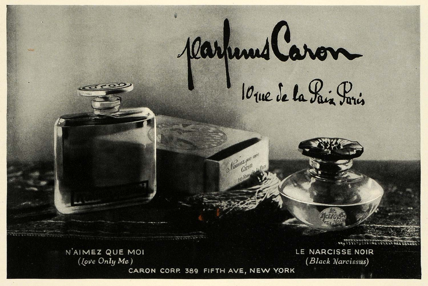 narcisse noir caron perfume a fragrance for women 1911