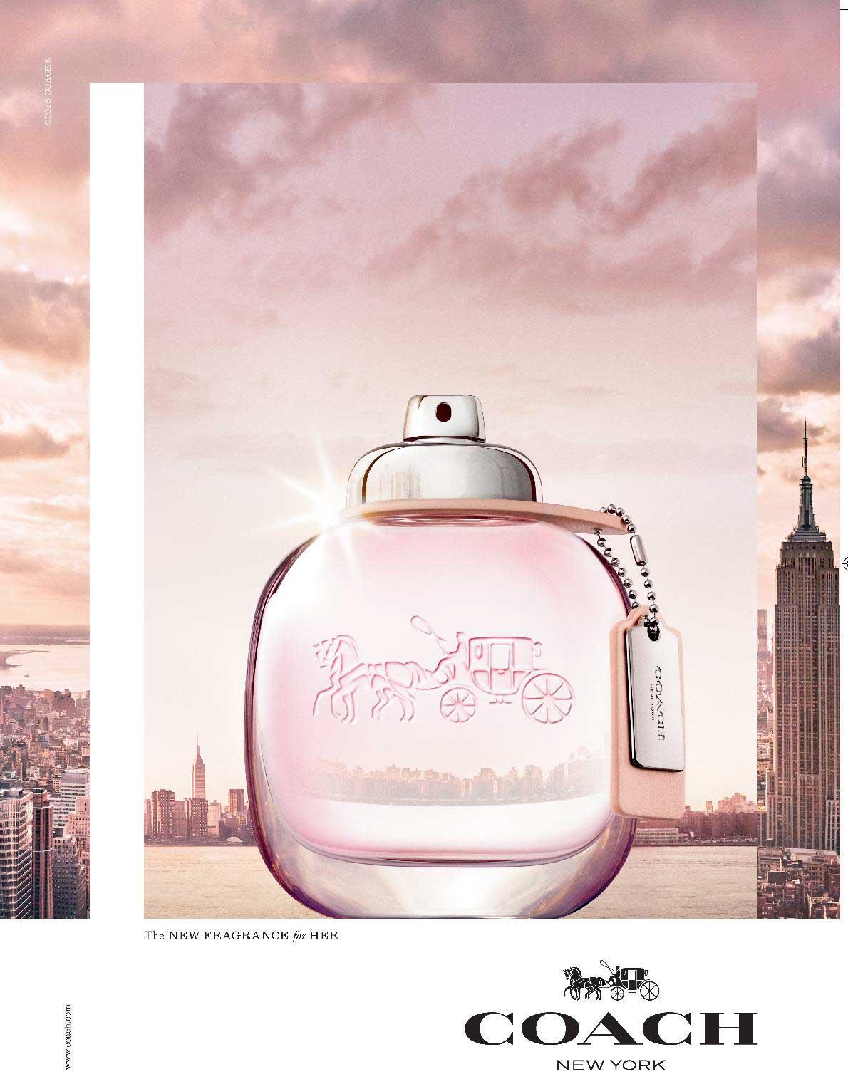 Coach the fragrance eau de toilette coach perfume una nuevo fragancia para mujeres 2016 - Foto de toilette ...