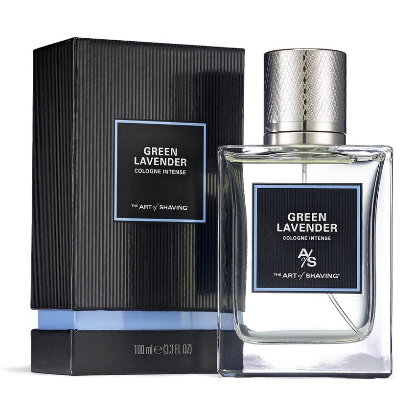 green lavender cologne intense the art of shaving cologne un nouveau parfum pour homme 2016. Black Bedroom Furniture Sets. Home Design Ideas