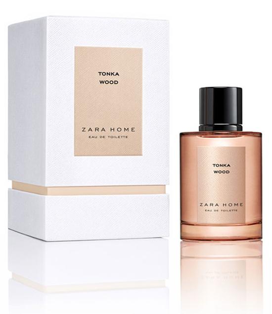 Tonka Wood Zara Home Perfume A New Fragrance For Women