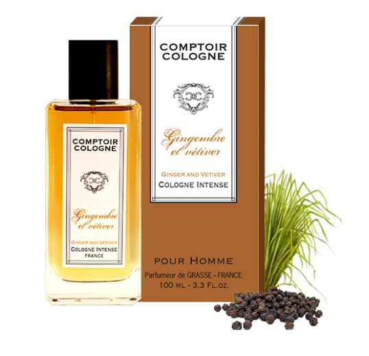 gingembre et v tiver comptoir cologne cologne un parfum pour homme 2016. Black Bedroom Furniture Sets. Home Design Ideas