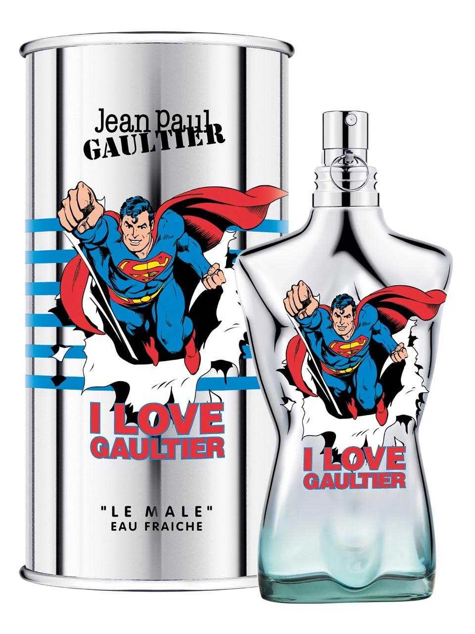Le Male Superman Eau Fraiche Jean Paul Gaultier Colonia - una nuevo ...