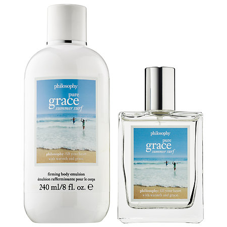 Pure Grace Summer Surf Philosophy perfume - a new fragrance for ...