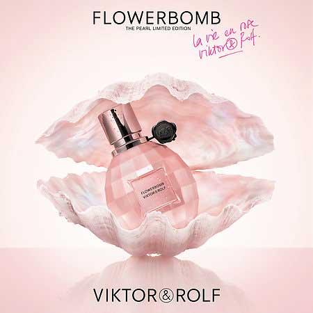 flowerbomb la vie en rose 2017 viktor rolf perfume a new fragrance for women 2017. Black Bedroom Furniture Sets. Home Design Ideas