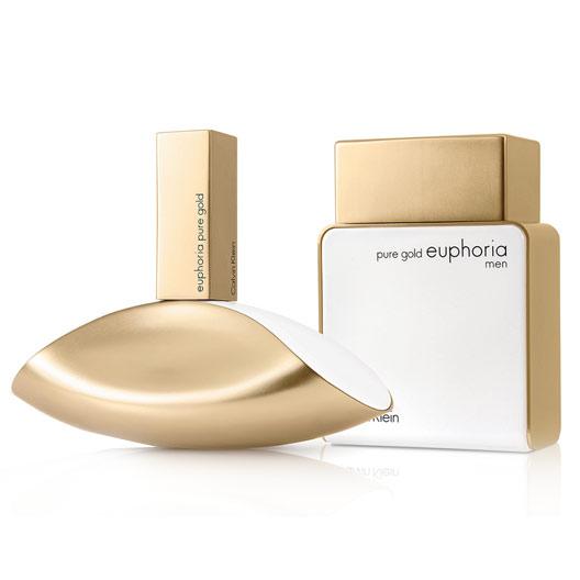 pure gold euphoria women calvin klein perfume a new. Black Bedroom Furniture Sets. Home Design Ideas