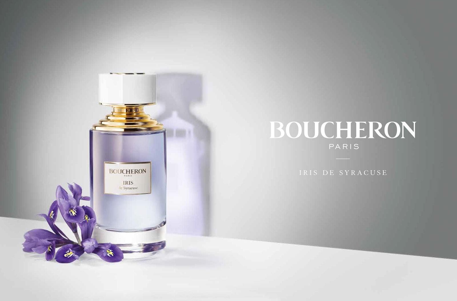 iris de syracuse boucheron parfum un nouveau parfum pour homme et femme 2017. Black Bedroom Furniture Sets. Home Design Ideas