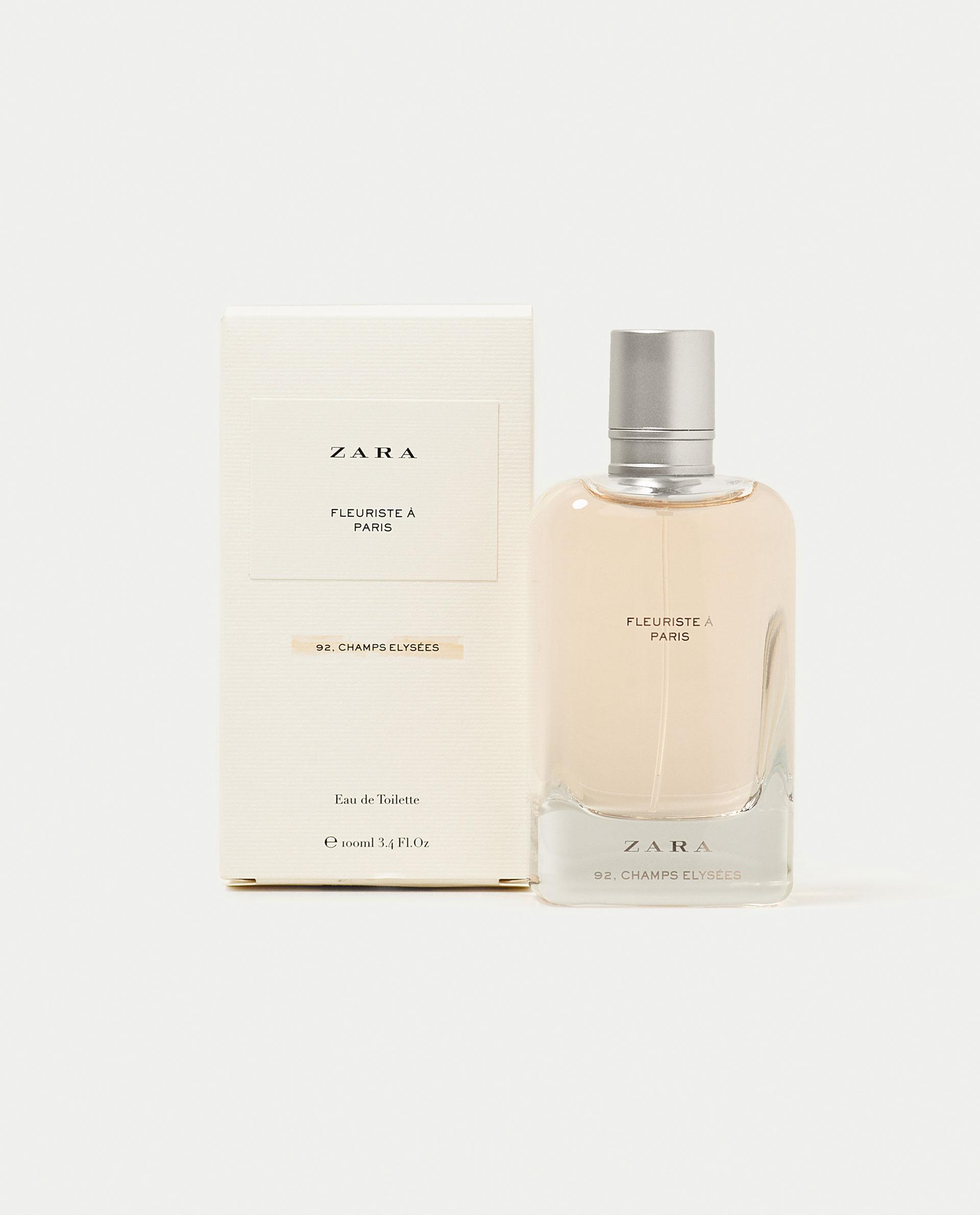 fleuriste a paris zara perfume a new fragrance for women. Black Bedroom Furniture Sets. Home Design Ideas
