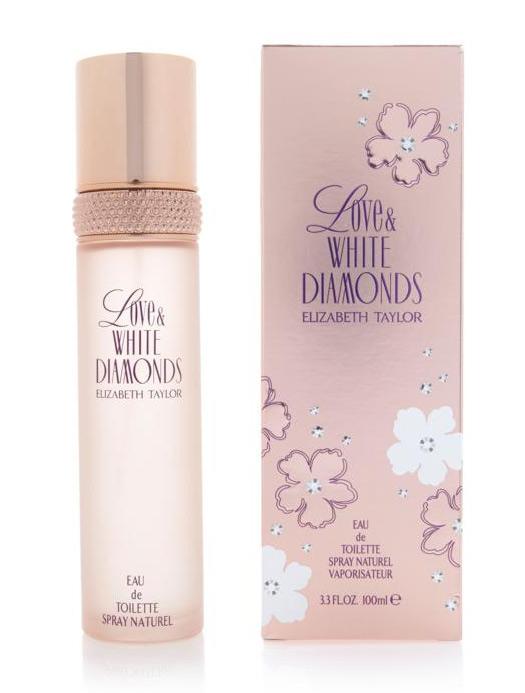 Love White Diamonds Elizabeth Taylor perfume a new fragrance