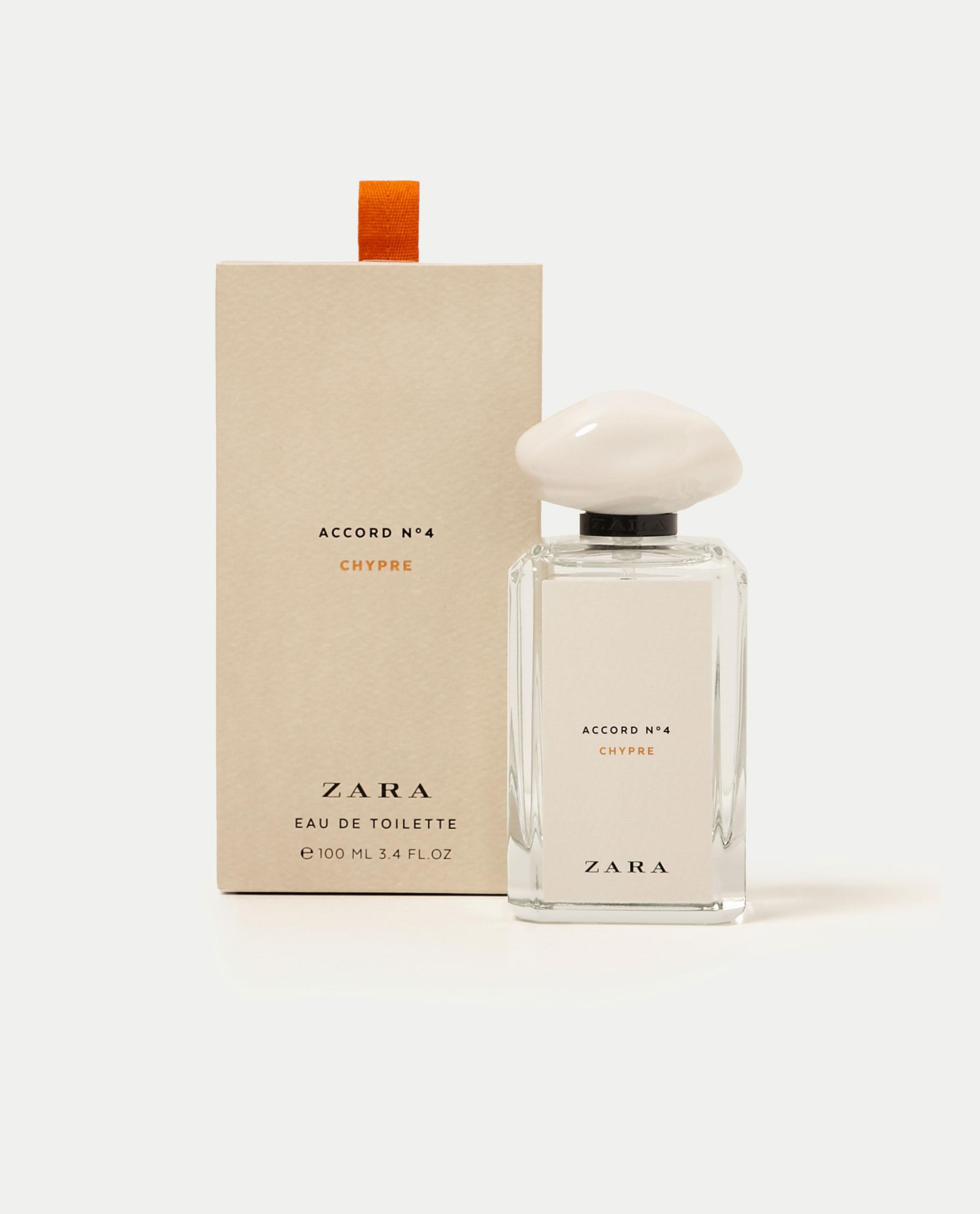accord no 4 chypre zara parfum un nouveau parfum pour femme 2017. Black Bedroom Furniture Sets. Home Design Ideas