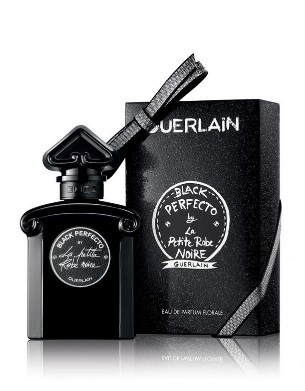 black perfecto by la petite robe noire guerlain perfume a new fragrance for women 2017. Black Bedroom Furniture Sets. Home Design Ideas