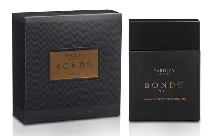 Bond Street No 33 Yardley cologne a new fragrance for
