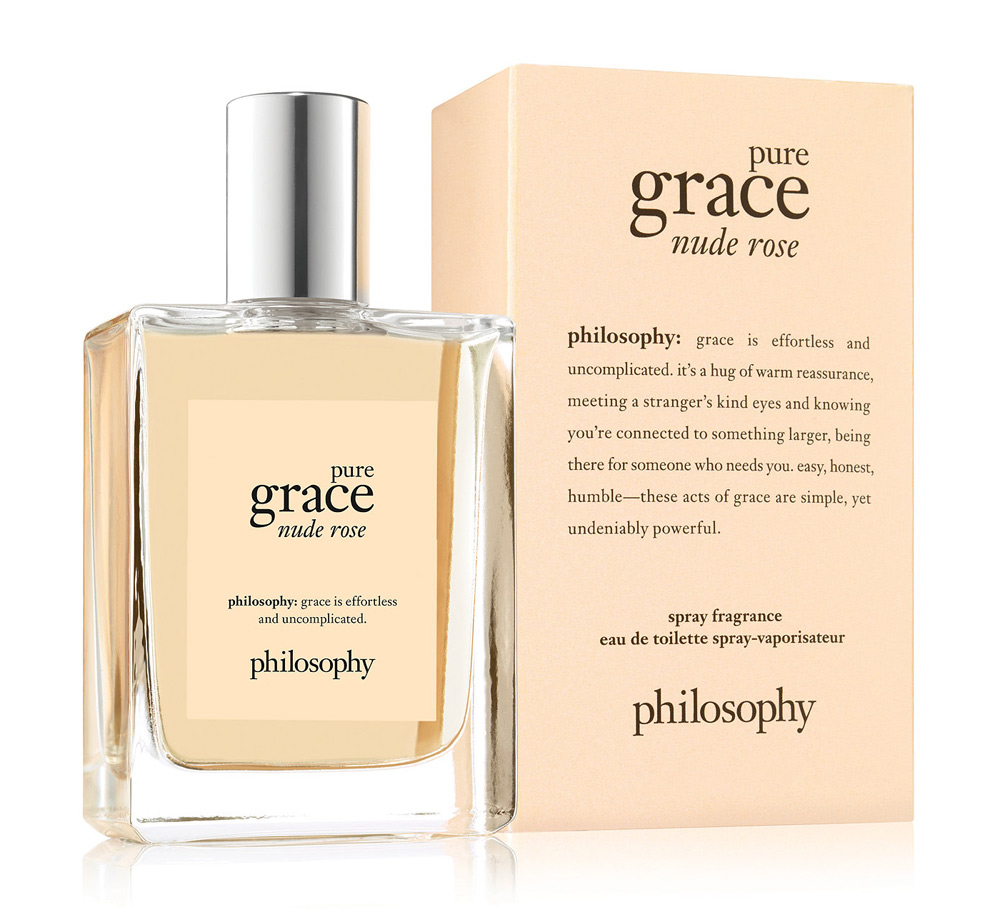Pure Grace Nude Rose Philosophy perfume - a new fragrance for ...