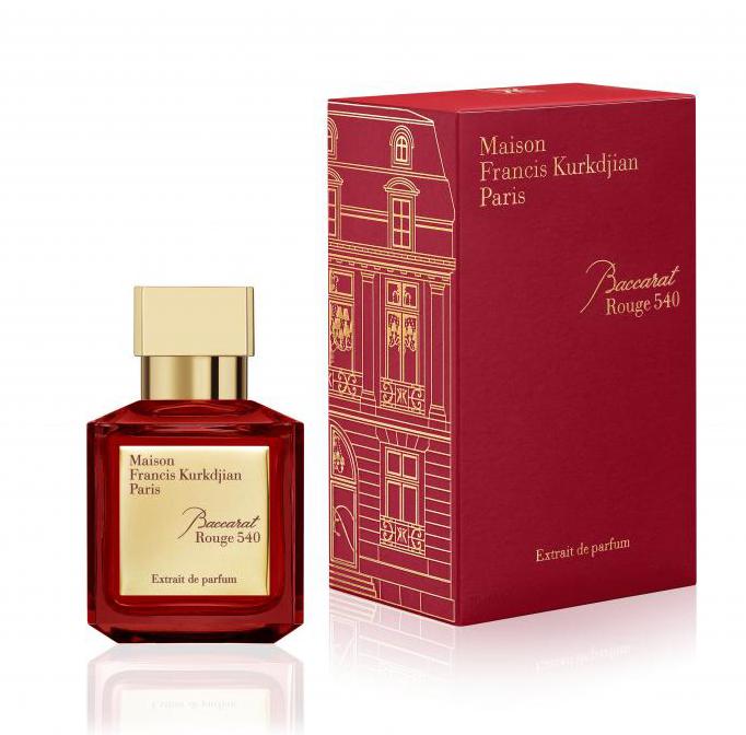 baccarat rouge 540 extrait de parfum maison francis kurkdjian parfum un nouveau parfum pour. Black Bedroom Furniture Sets. Home Design Ideas