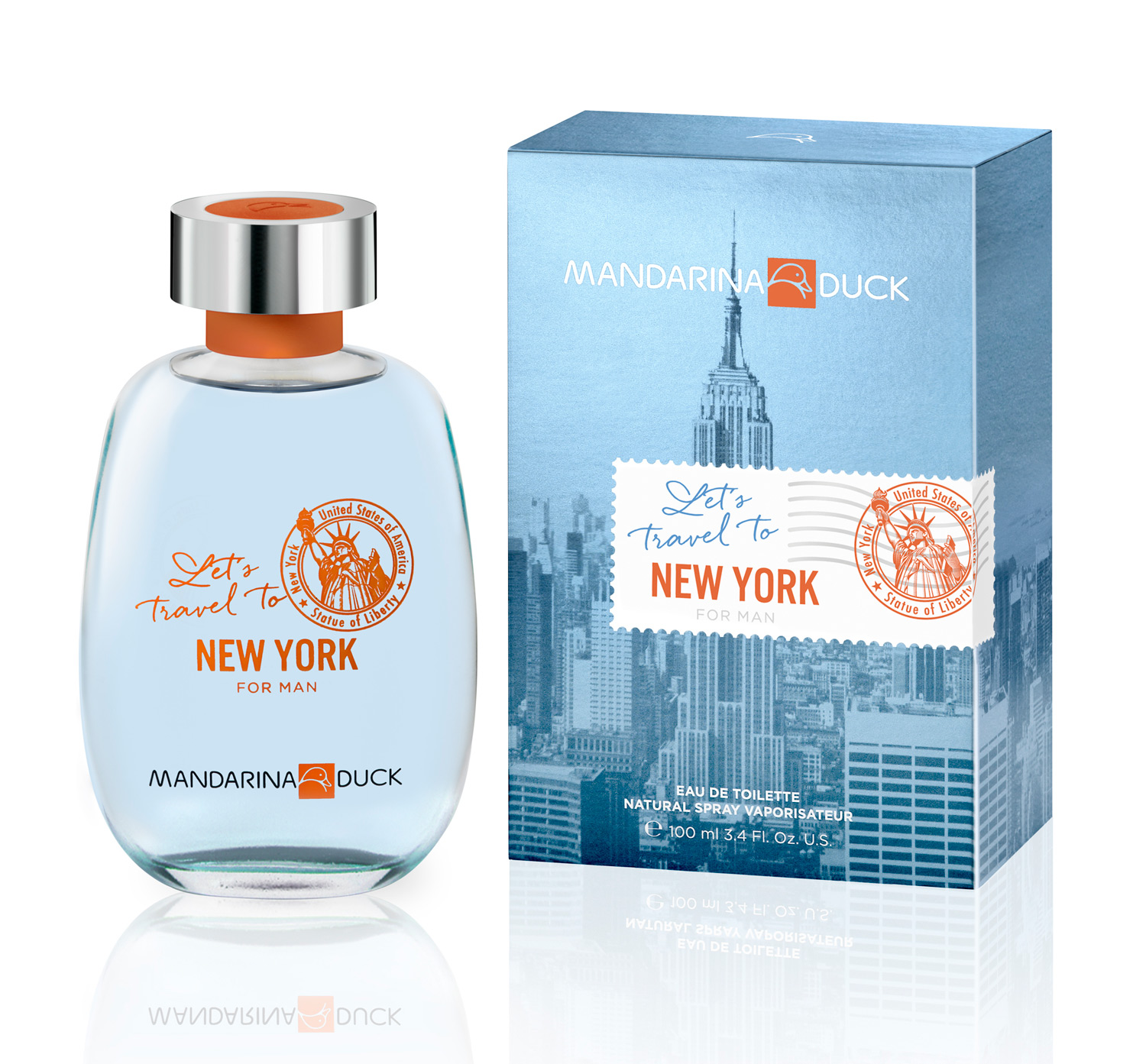 Let 39 S Travel To New York For Man Mandarina Duck Cologne
