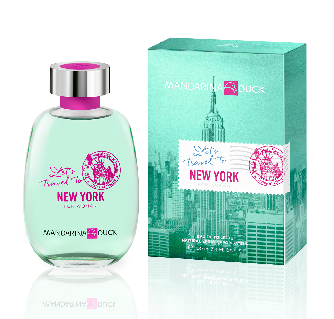 Let S Travel To New York For Woman Mandarina Duck Perfume