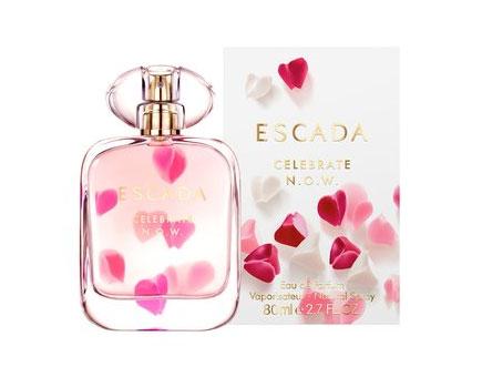 celebrate n o w escada perfume a new fragrance for. Black Bedroom Furniture Sets. Home Design Ideas